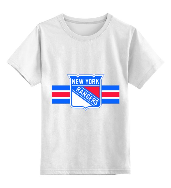 Детская футболка классическая унисекс Printio Нью-йорк рейнджерс футболка с полной запечаткой printio нью йорк никс