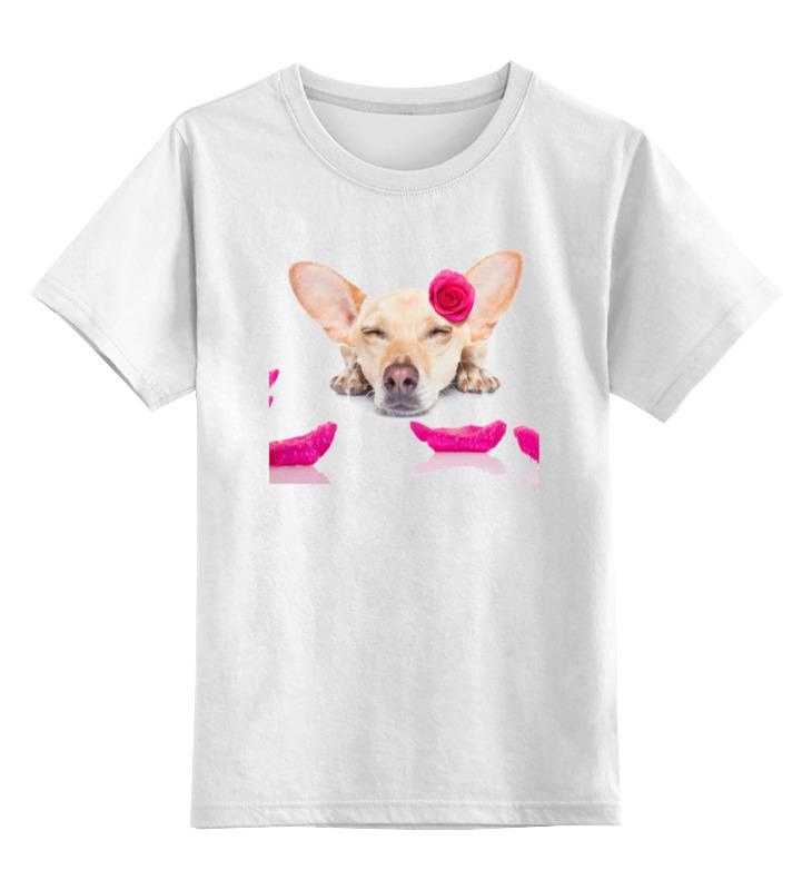 Printio Собака детская футболка классическая унисекс printio спящая собака
