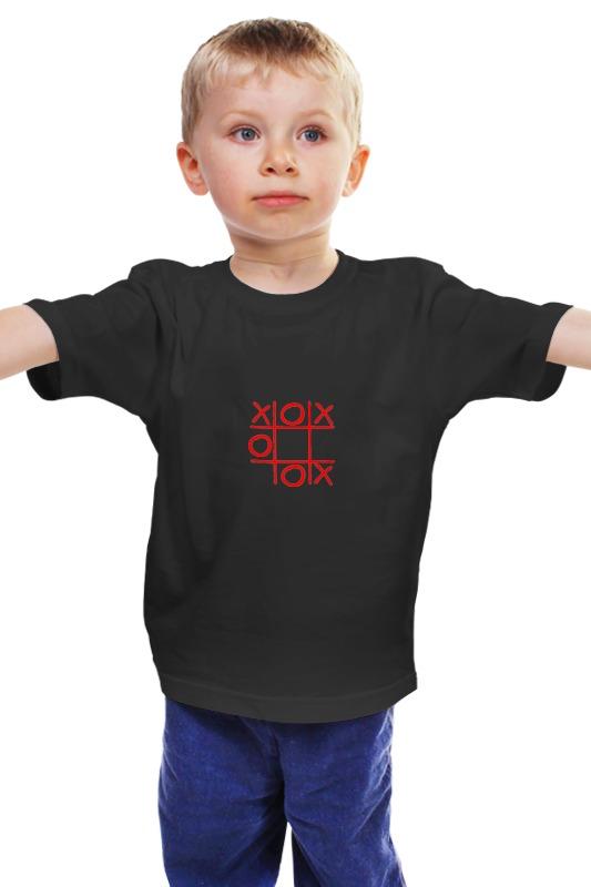 Детская футболка классическая унисекс Printio Крестики-нолики садовые крестики нолики