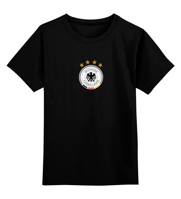 цены Детская футболка классическая унисекс Printio Сборная германии