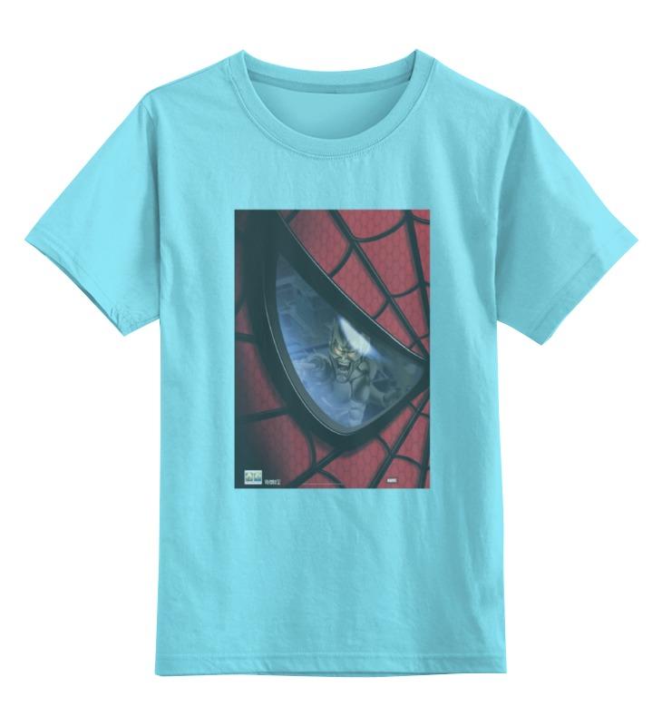 Детская футболка классическая унисекс Printio Spider man / человек паук spider man человек паук на боевой машине page 3