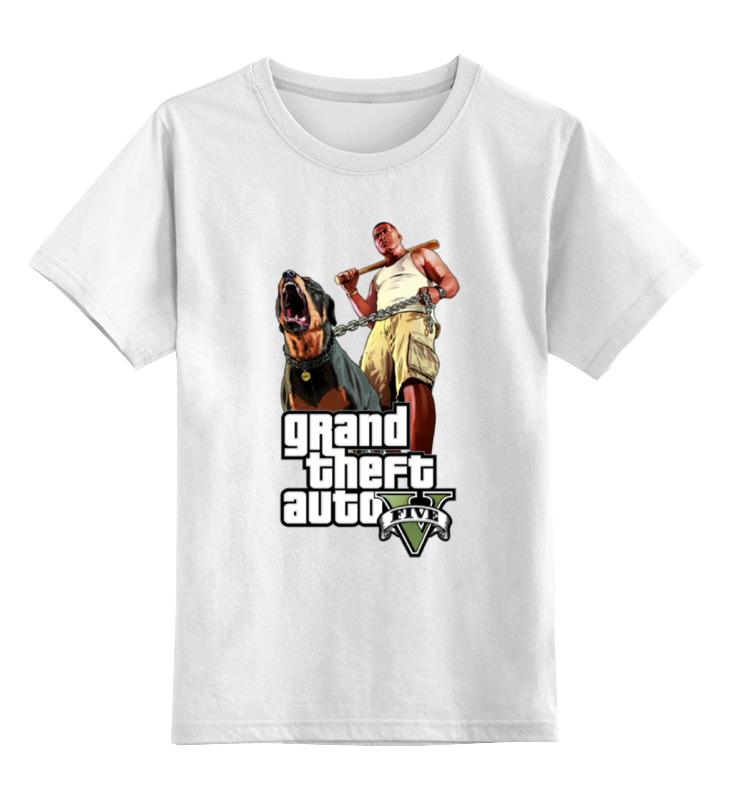 Детская футболка классическая унисекс Printio Gta 5 dog & man футболка классическая printio gta 5 dog