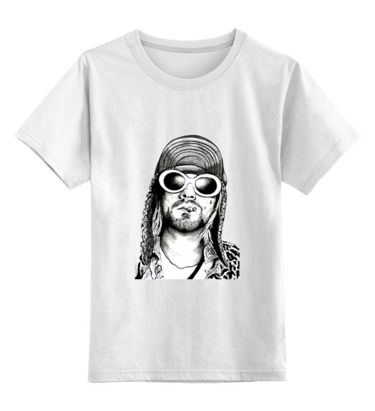 Детская футболка классическая унисекс Printio Kurt cobain футболка классическая printio kurt cobain