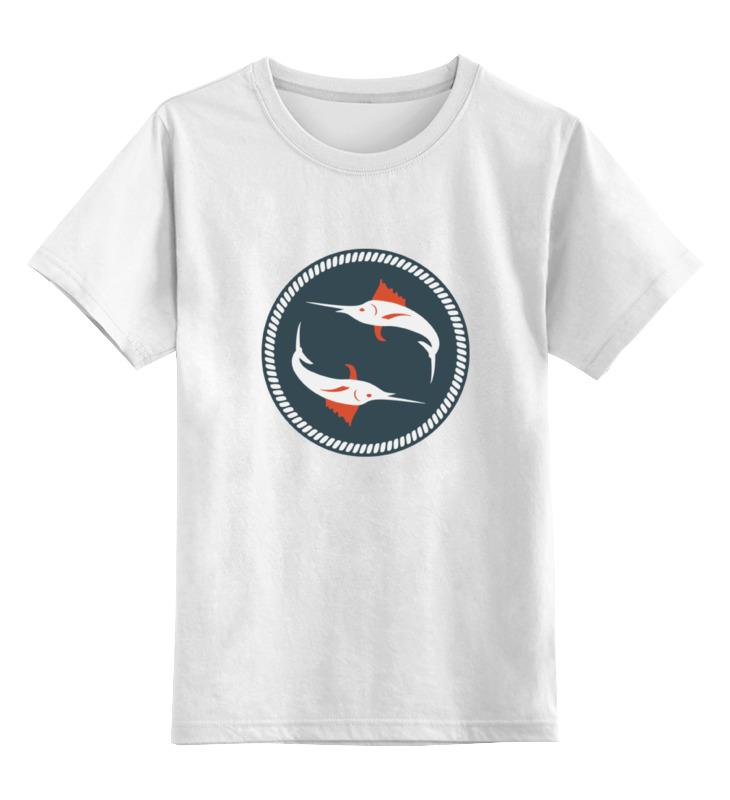 Детская футболка классическая унисекс Printio Рыба-парусник octonauts фигурка рыба парусник