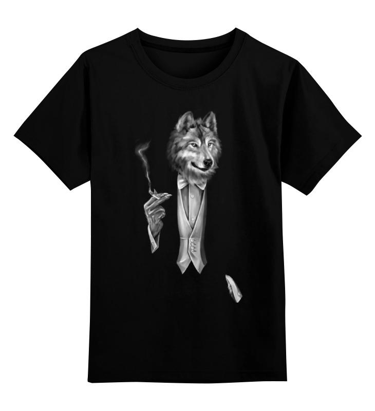 Детская футболка классическая унисекс Printio Мистер волк детская футболка классическая унисекс printio мачете