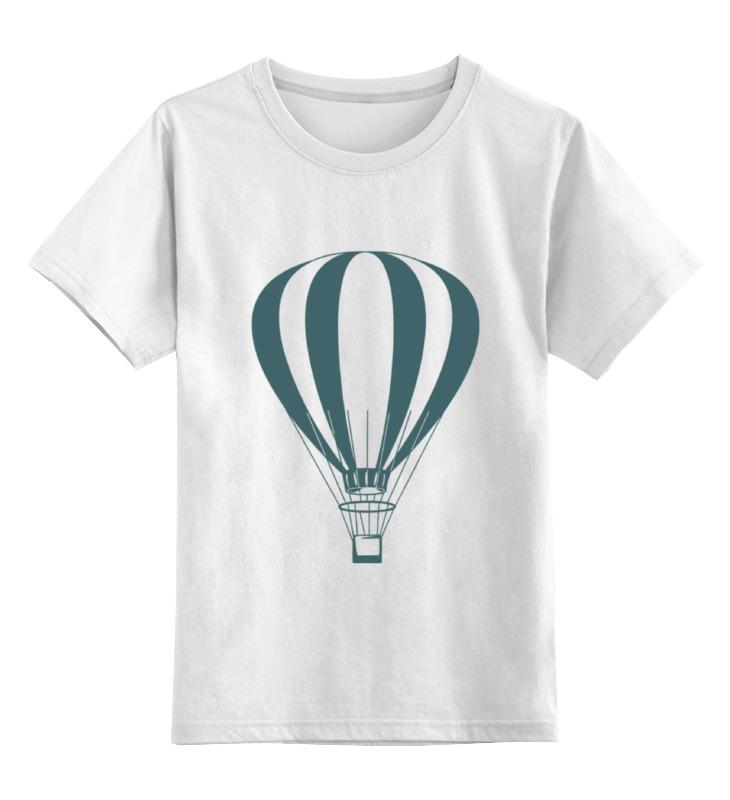 Детская футболка классическая унисекс Printio Воздушный шар воздушный шар 16
