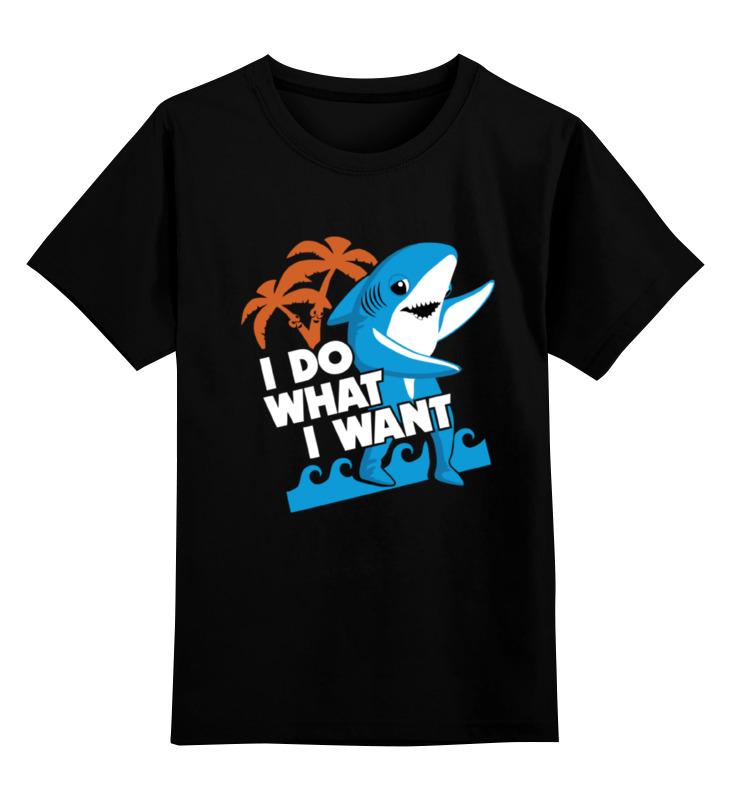 купить Детская футболка классическая унисекс Printio Акула (shark) по цене 1266 рублей