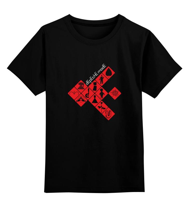 Детская футболка классическая унисекс Printio Depeche mode / symbols футболка print bar sea symbols
