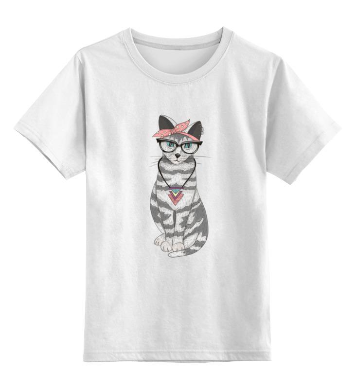 Детская футболка классическая унисекс Printio Мяу мяу мяу альт мяу мяу для младших классов