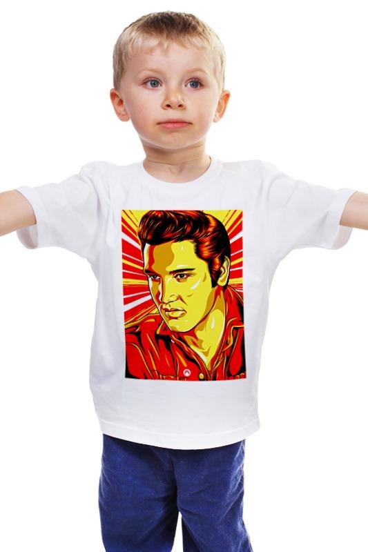 Детская футболка классическая унисекс Printio Элвис пресли 31 век элвис пресли el 0717 7