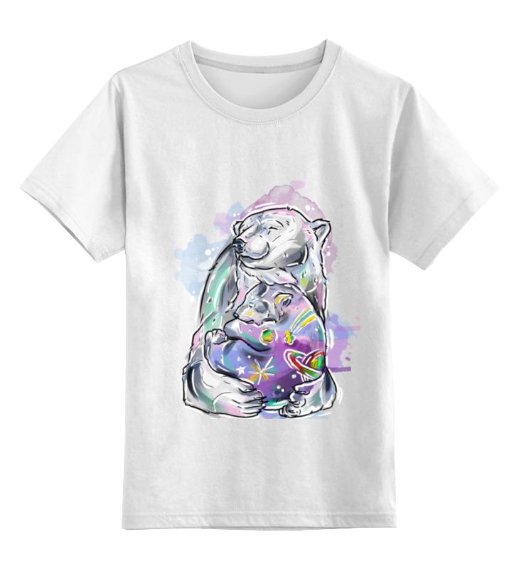 Printio Белый медведь детская футболка классическая унисекс printio медведь с птицей