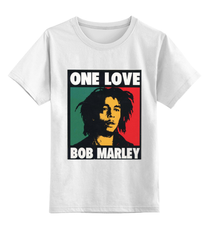 Детская футболка классическая унисекс Printio Bob marley bob marley bob marley live