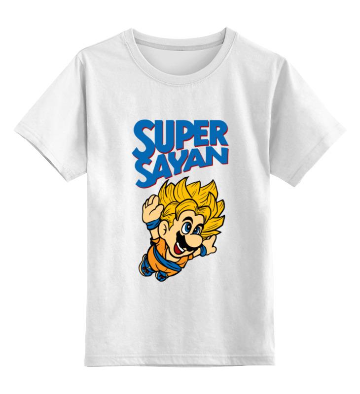 Детская футболка классическая унисекс Printio Супер сайян детская футболка классическая унисекс printio супер звезда супер сайян