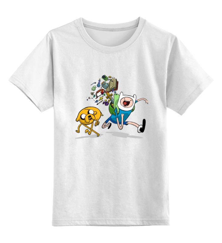 все цены на Детская футболка классическая унисекс Printio Adventure time онлайн