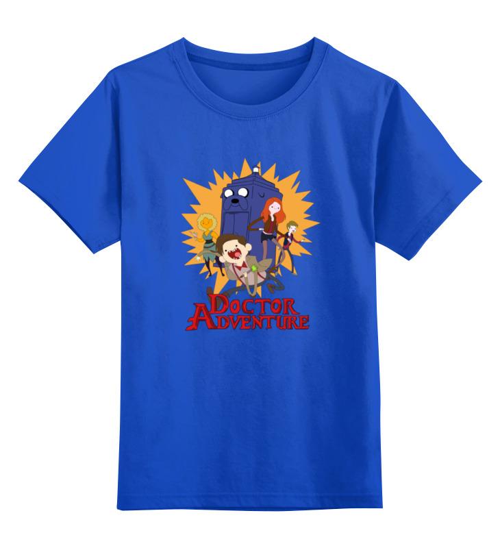 Детская футболка классическая унисекс Printio Doctor adventure time детская футболка классическая унисекс printio adventure time x doctor who