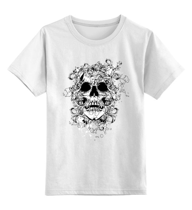 Printio Череп (орнамент) детская футболка классическая унисекс printio череп mescalinos
