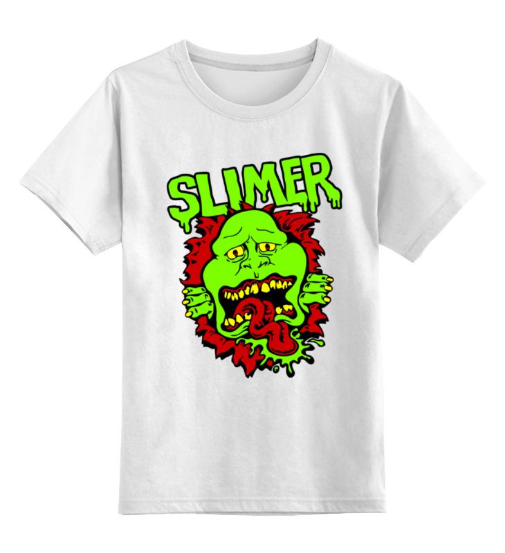 Фото - Детская футболка классическая унисекс Printio Лизун (slimer) детская футболка классическая унисекс printio лизун slimer