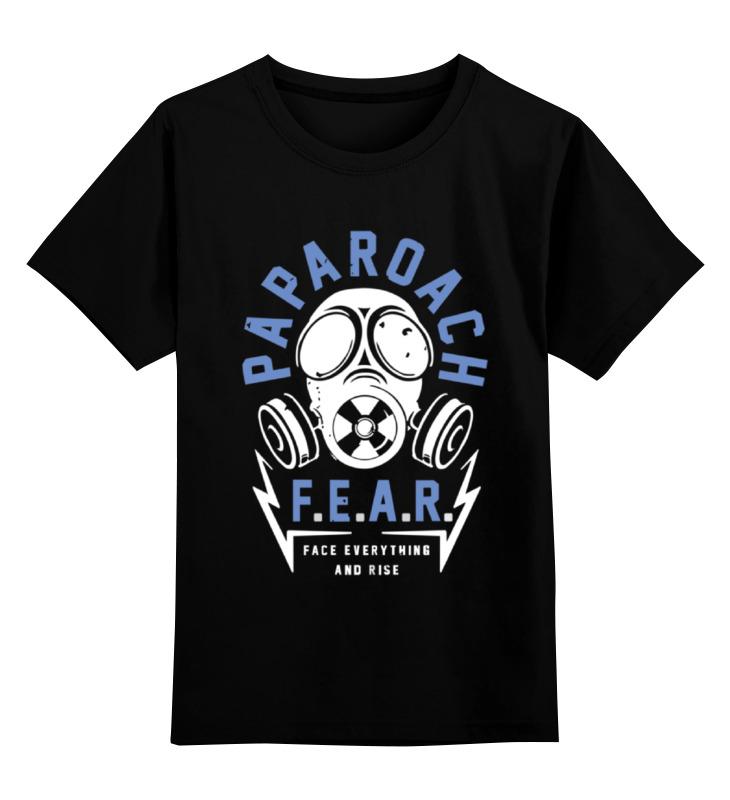Детская футболка классическая унисекс Printio Papa roach