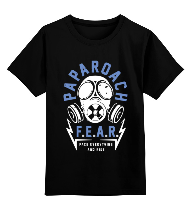 Детская футболка классическая унисекс Printio Papa roach сувенир steve roach quiet music
