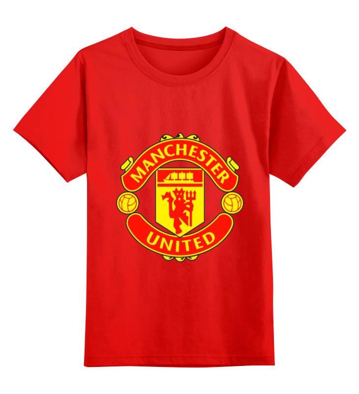 Детская футболка классическая унисекс Printio Manchester united футболка стрэйч printio manchester united