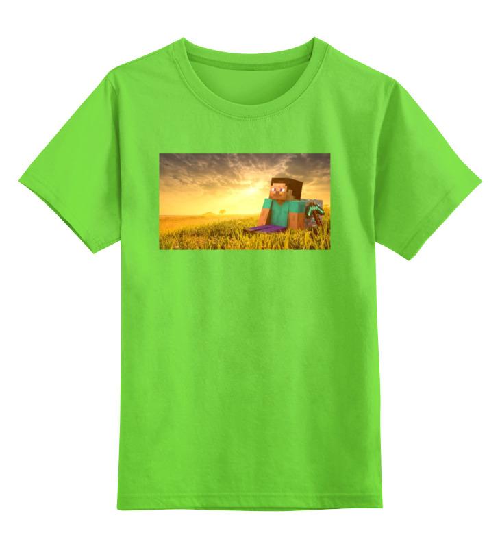 Детская футболка классическая унисекс Printio Майнкрафт футболка майнкрафт детская