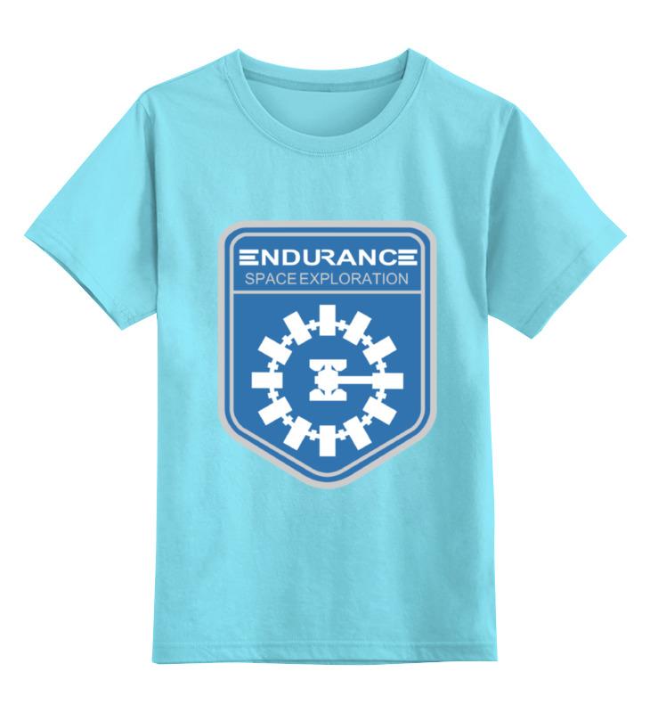 Детская футболка классическая унисекс Printio Endurance (interstellar) endurance e300