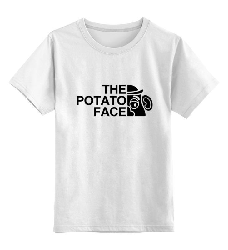 Детская футболка классическая унисекс Printio Картошка футболка wearcraft premium printio картошка