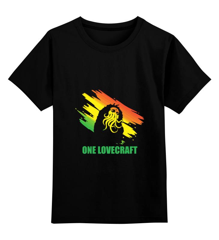 Детская футболка классическая унисекс Printio One lovecraft детская футболка классическая унисекс printio one lovecraft
