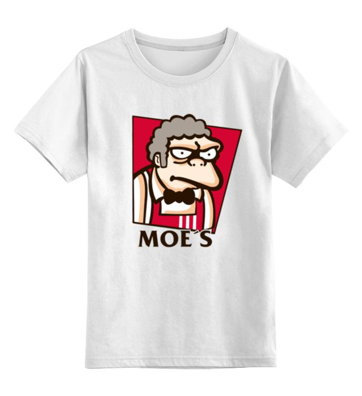Детская футболка классическая унисекс Printio Моррис джеймс моррис
