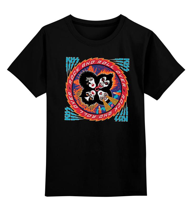 Детская футболка классическая унисекс Printio Kiss band толстовка wearcraft premium унисекс printio kiss band