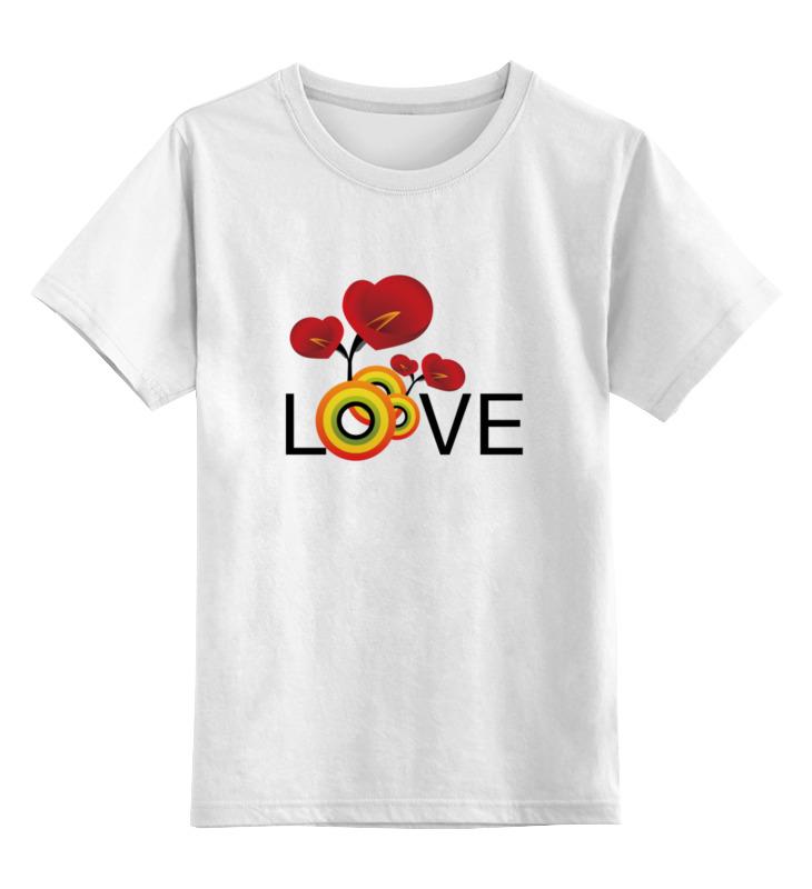Детская футболка классическая унисекс Printio Любовь макс игнатов детская любовь