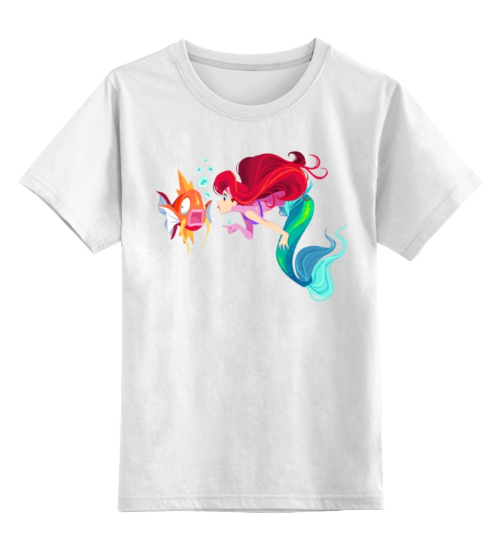 Детская футболка классическая унисекс Printio Русалка / mermaid слюнявчик printio русалка mermaid
