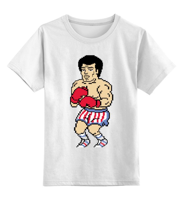 Детская футболка классическая унисекс Printio Рокки детская футболка классическая унисекс printio rocky рокки