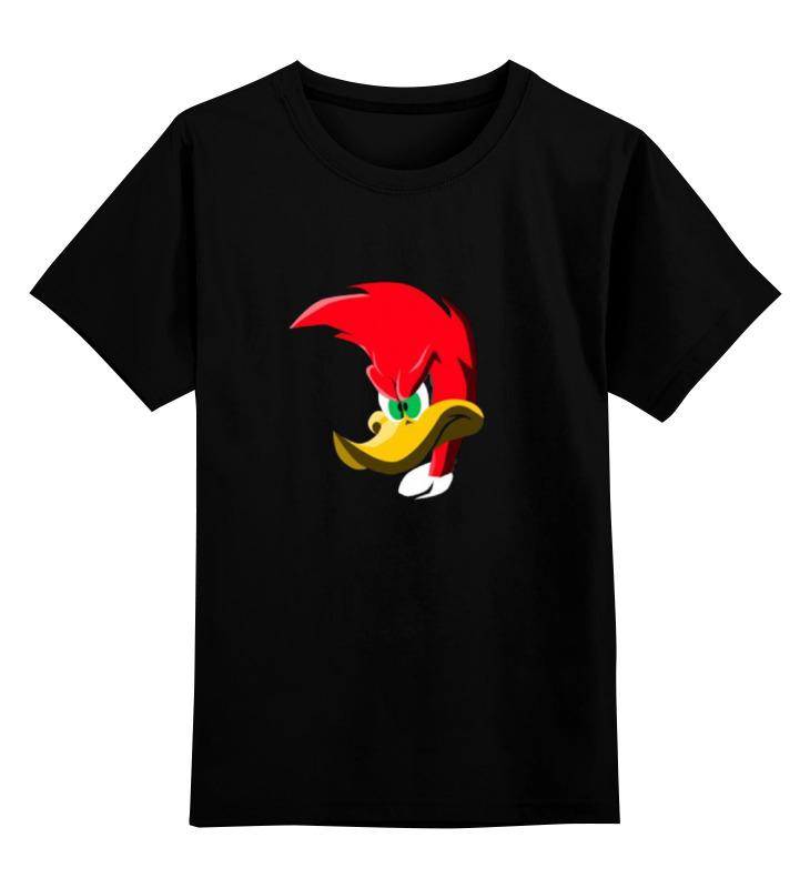 Детская футболка классическая унисекс Printio Вуди вудпекер