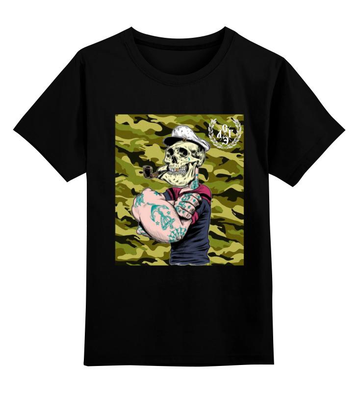 Детская футболка классическая унисекс Printio Морячок