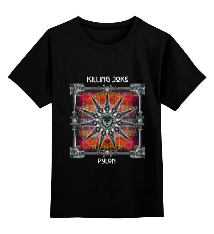 Детская футболка классическая унисекс Printio Killing joke / pylon honour killing