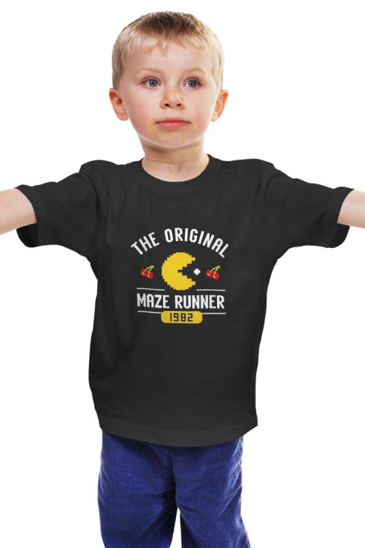 Детская футболка классическая унисекс Printio Pac man