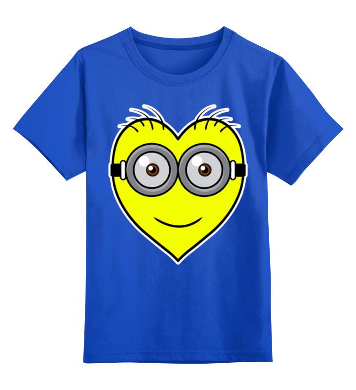 Детская футболка классическая унисекс Printio Я люблю миньонов цена и фото