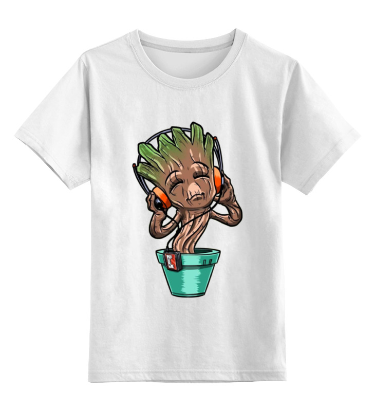 Детская футболка классическая унисекс Printio Зомби меломан детская футболка классическая унисекс printio меломан