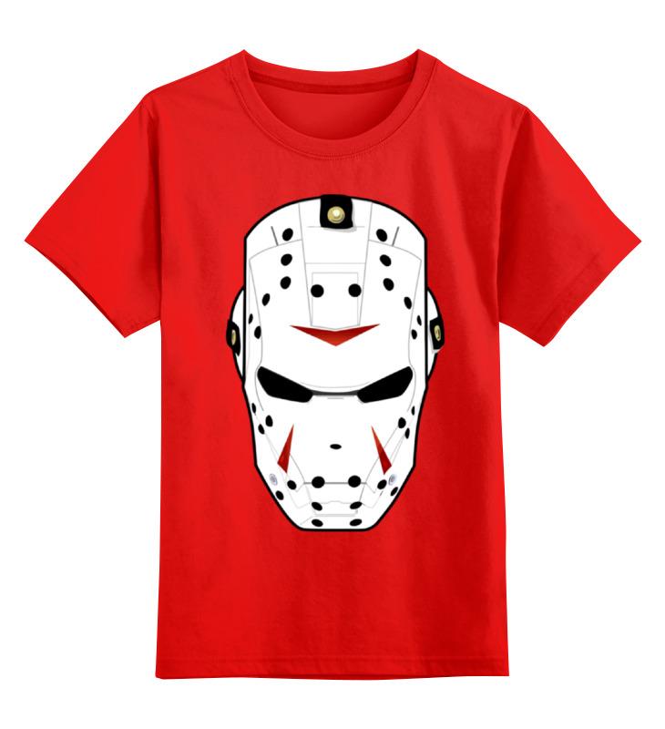 Детская футболка классическая унисекс Printio Iron man x friday 13 детская футболка классическая унисекс printio jason friday 13