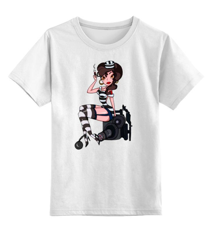Детская футболка классическая унисекс Printio Заключенный тайкус
