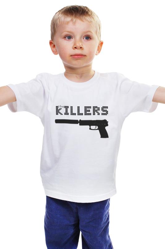Детская футболка классическая унисекс Printio The killers