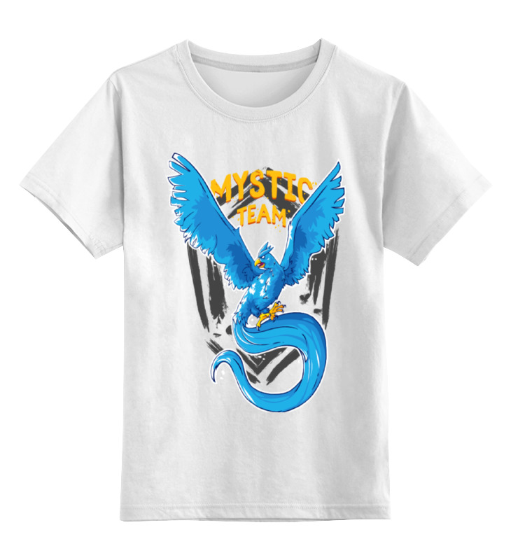 Детская футболка классическая унисекс Printio Mystic team exclusive (муж.)