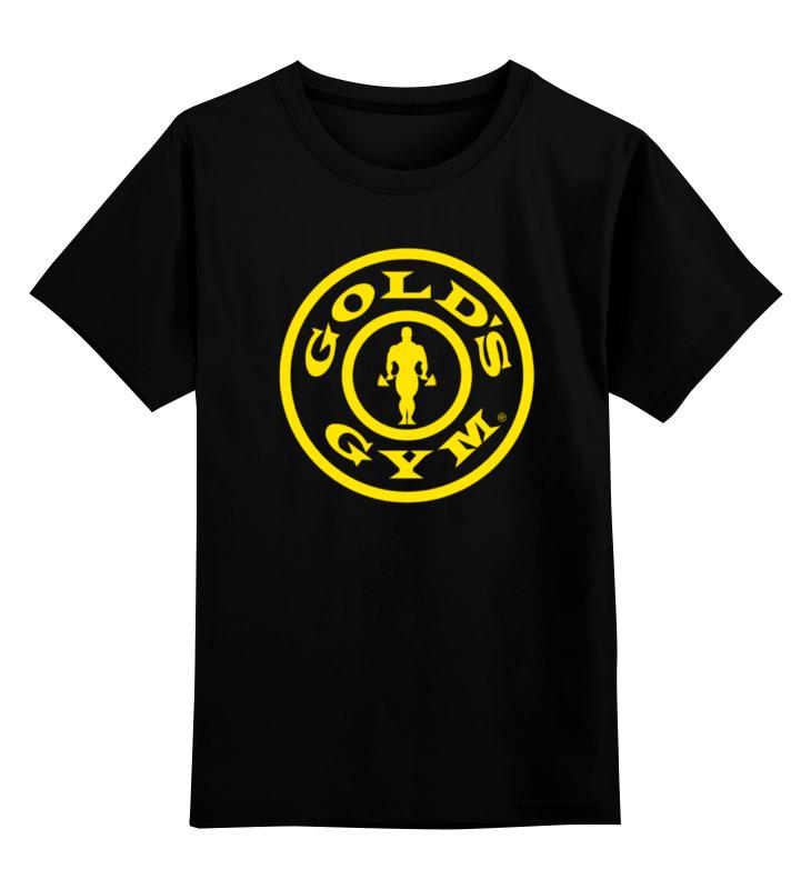 Детская футболка классическая унисекс Printio Gold's gym / бодибилдинг детская футболка классическая унисекс printio карандаш и самоделкин