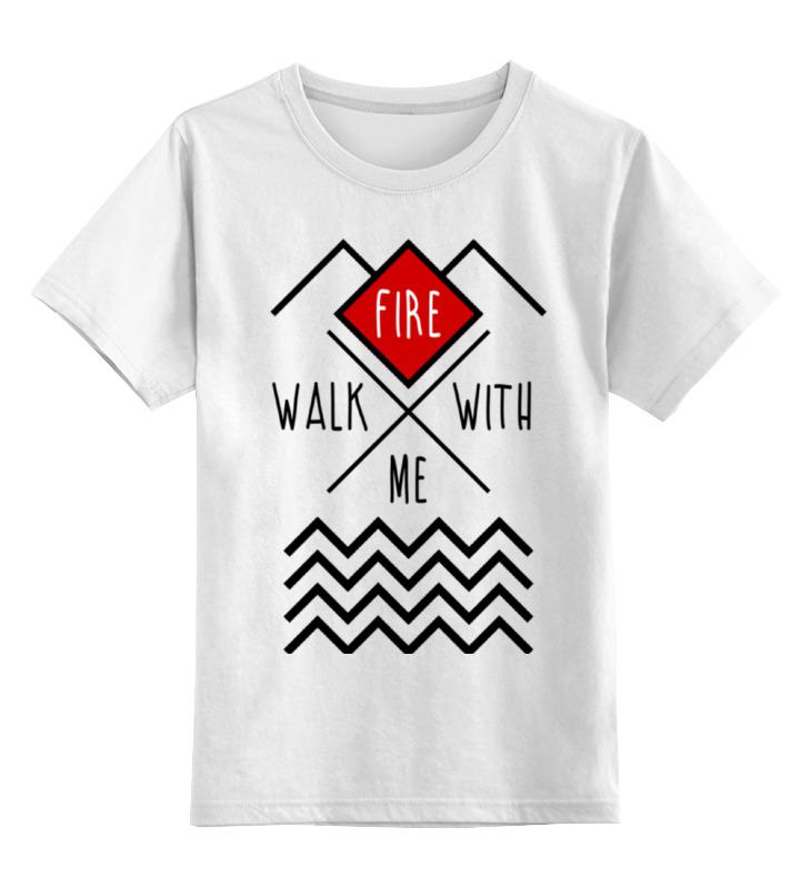 Детская футболка классическая унисекс Printio Твин пикс цена