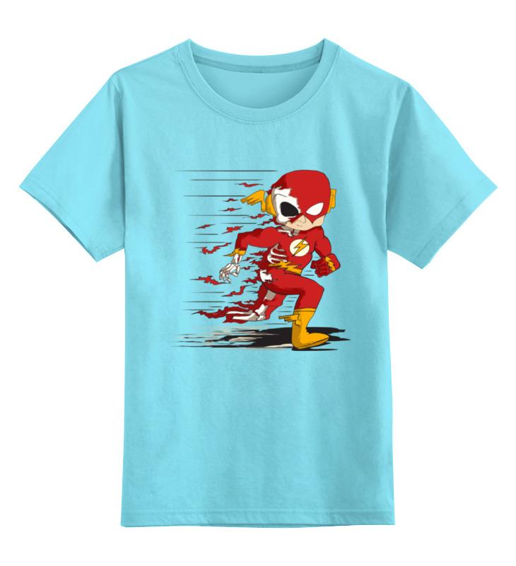Детская футболка классическая унисекс Printio Flash dead детская футболка классическая унисекс printio flash