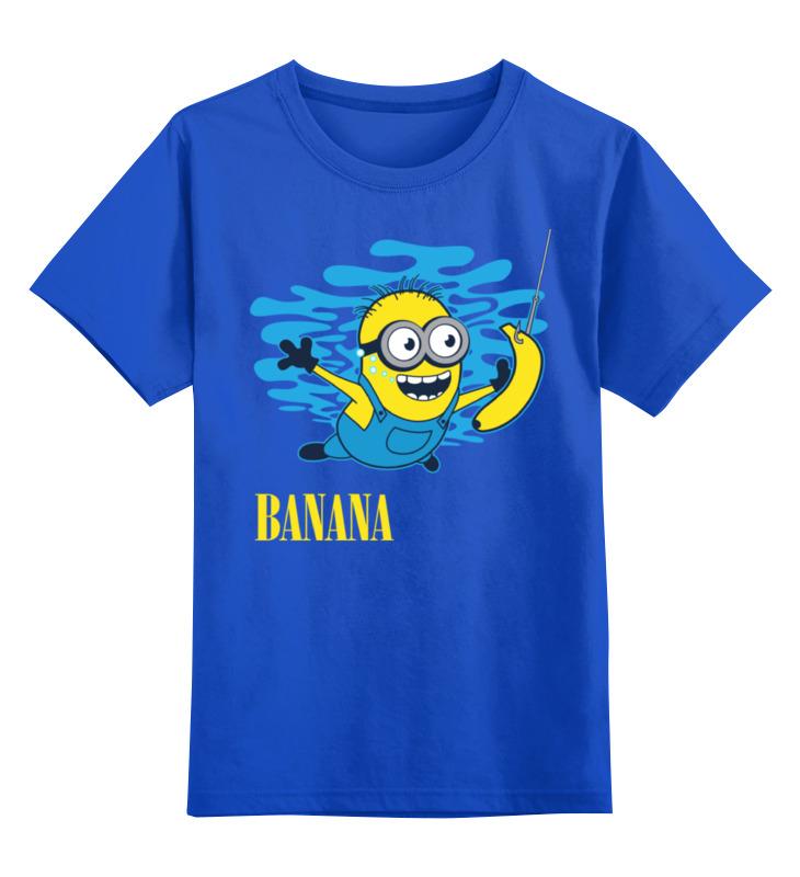 Детская футболка классическая унисекс Printio Banana. миньоны росмэн приглашение в конверте миньоны 6 шт