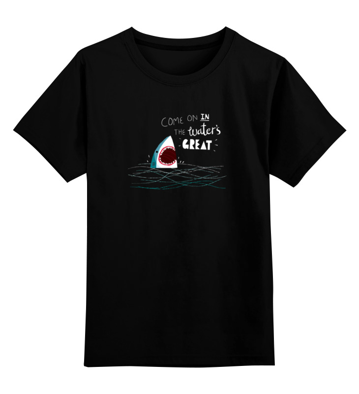 Детская футболка классическая унисекс Printio Левая акула детская футболка классическая унисекс printio мачете