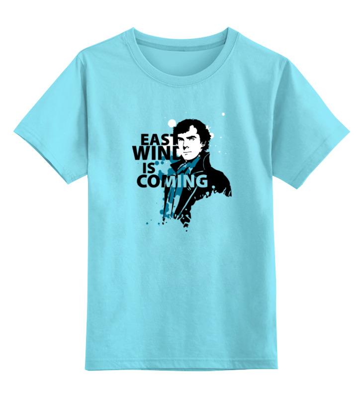 Детская футболка классическая унисекс Printio Шерлок холмс (sherlock holmes) футболка с полной запечаткой для мальчиков printio шерлок холмс sherlock holmes