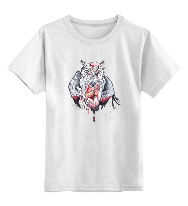 Детская футболка классическая унисекс Printio Необычная сова светлана джаарбекова необычная судьба